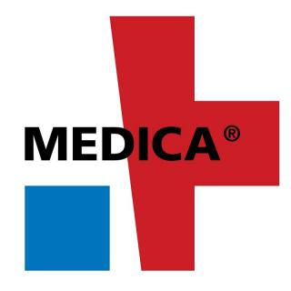 We will be at the Medica trade fair on 12-15 November 2018 in Germany..